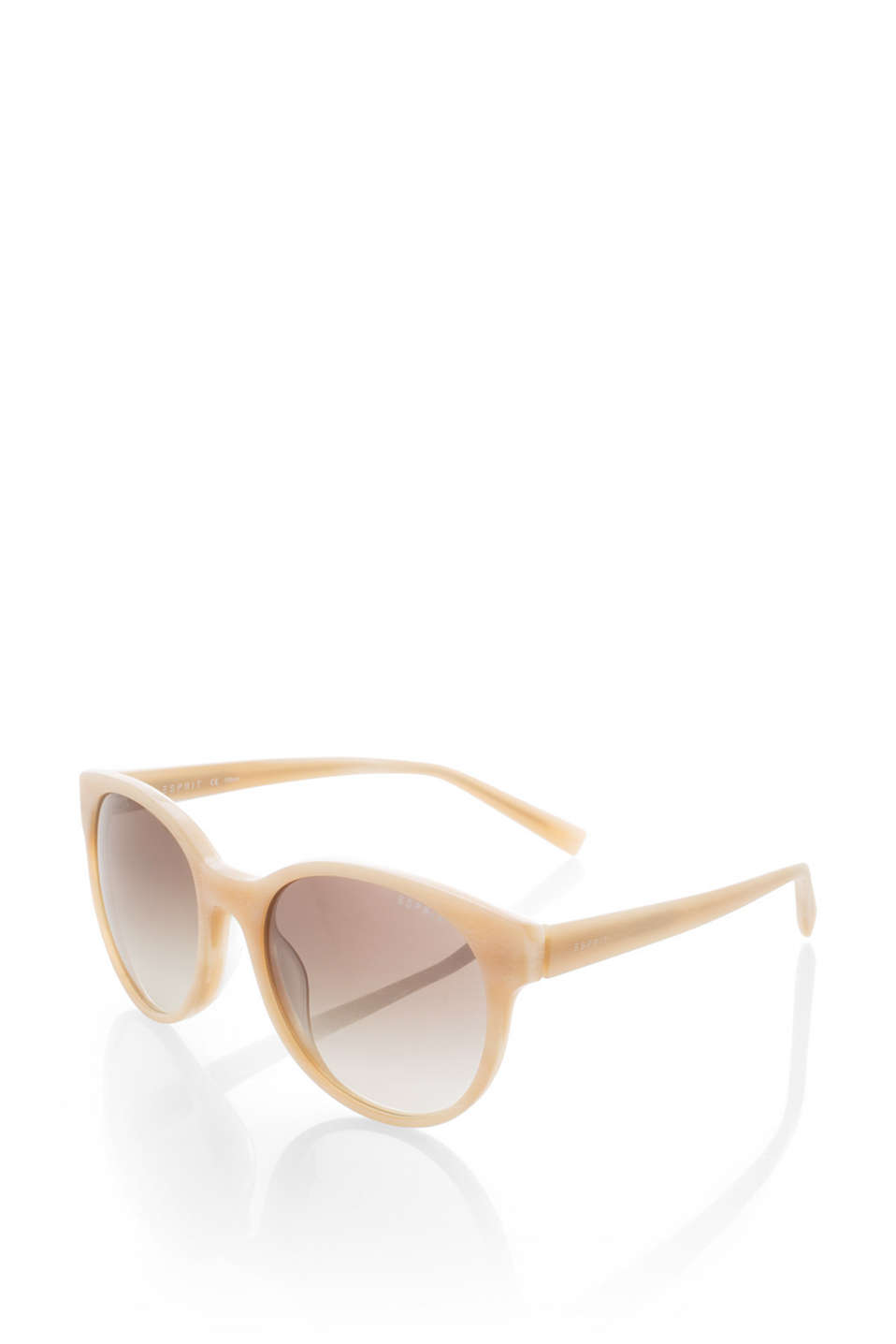 With a subtle graduated colour: sunglasses in a trendy look