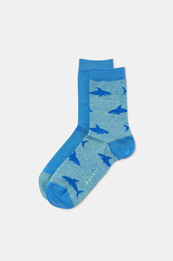 Esprit - Lot de 2 paires de chaussettes à motif - 1