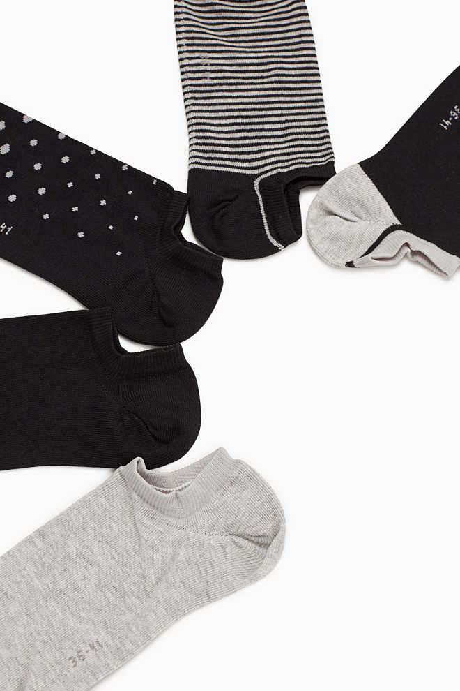 Esprit / 5-pack of trainer socks with pattern