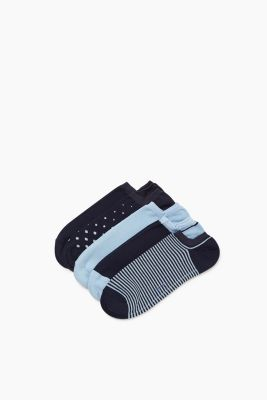 5-pack of trainer socks with pattern