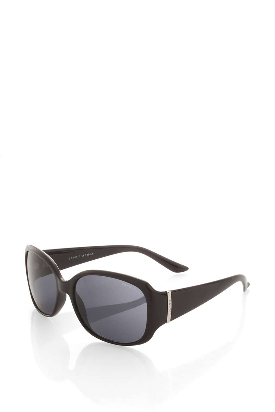 Sunglasses in a classic design in a plain-coloured design or with a floral pattern