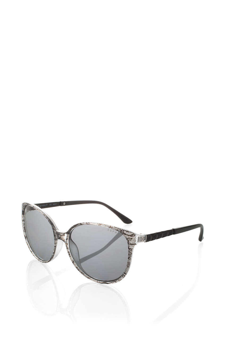 Sunglasses with graduated colour and metal details on the temples