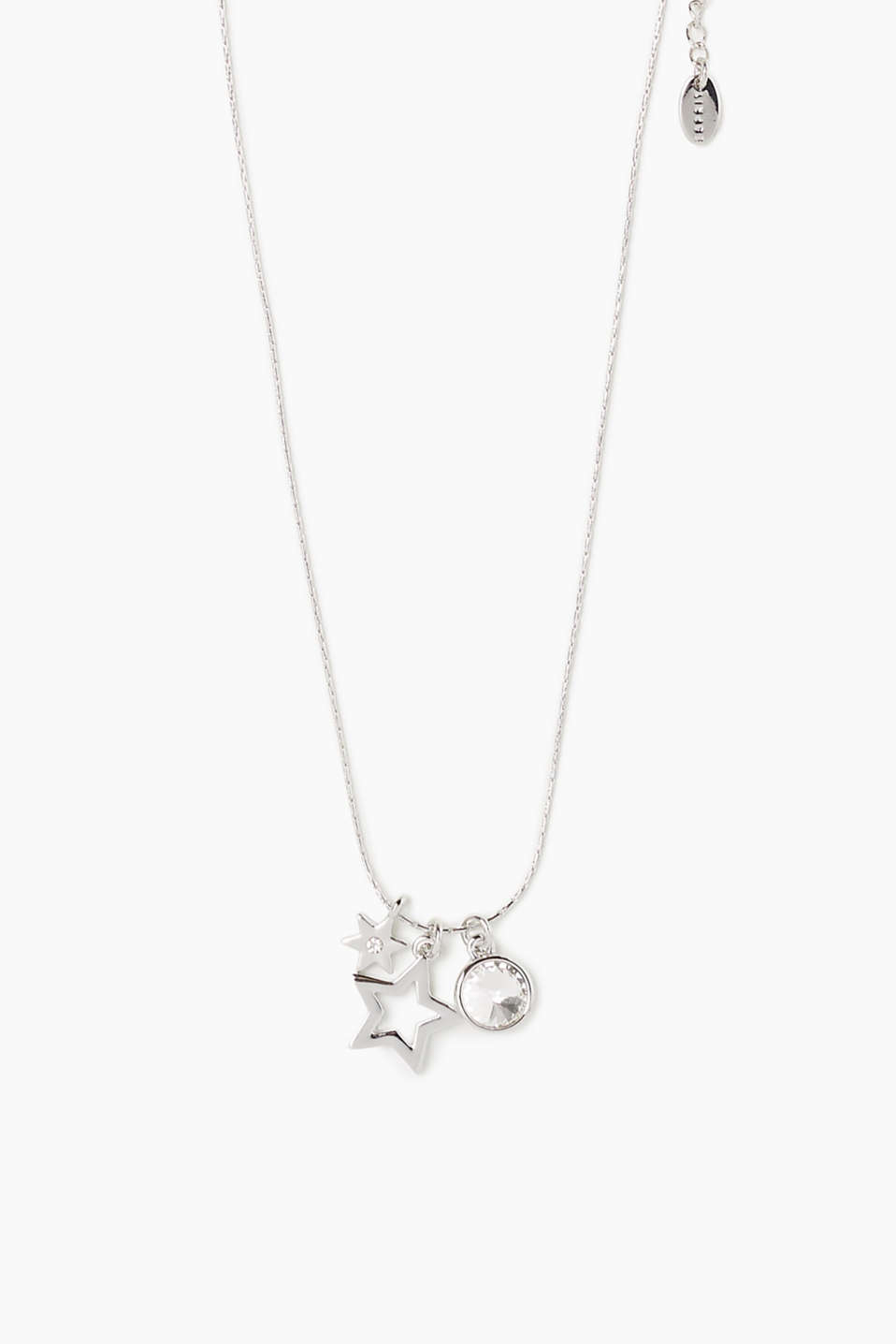 A set facet-cut stone and star charms