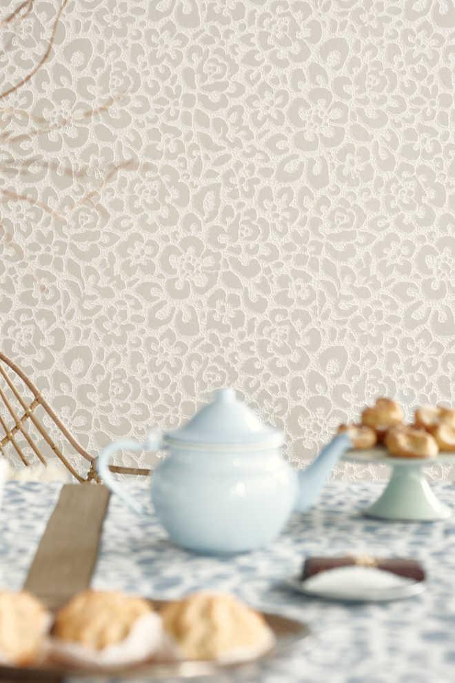 Esprit vliesbehang met bloemenmotief kopen in de online shop for Wat is vliesbehang
