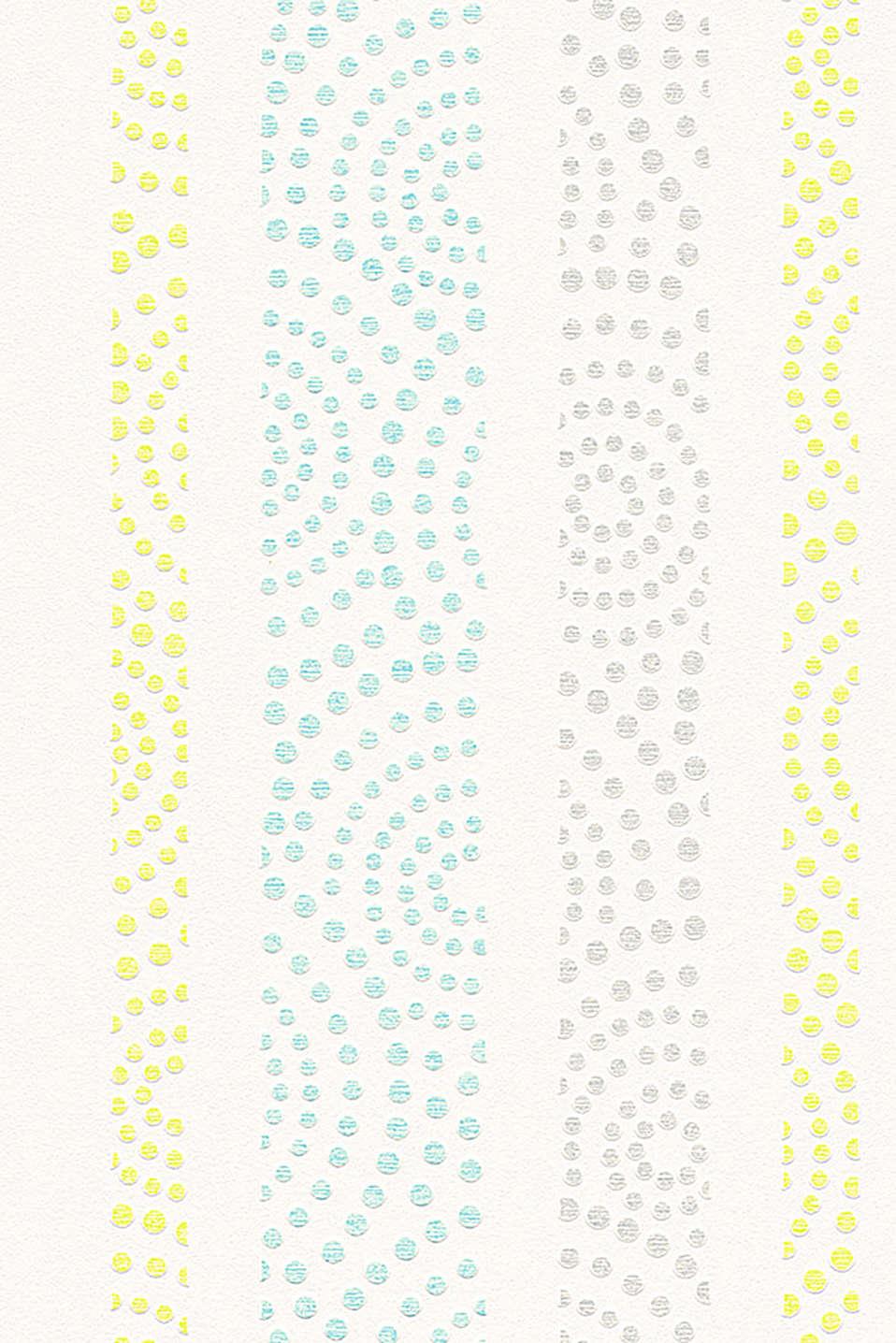 Esprit papel pintado de lunares en tejido no tejido en for Papel pintado lunares