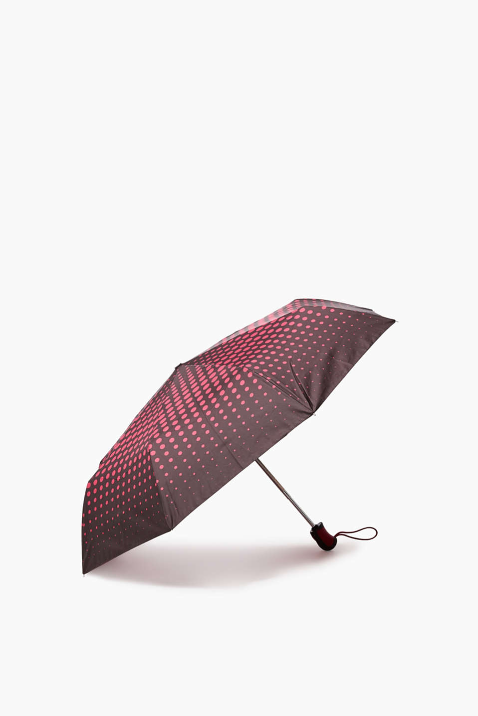 Lightweight umbrella in a handy size with a push/pull runner
