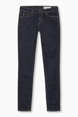 ultra-stretchy dark jeans