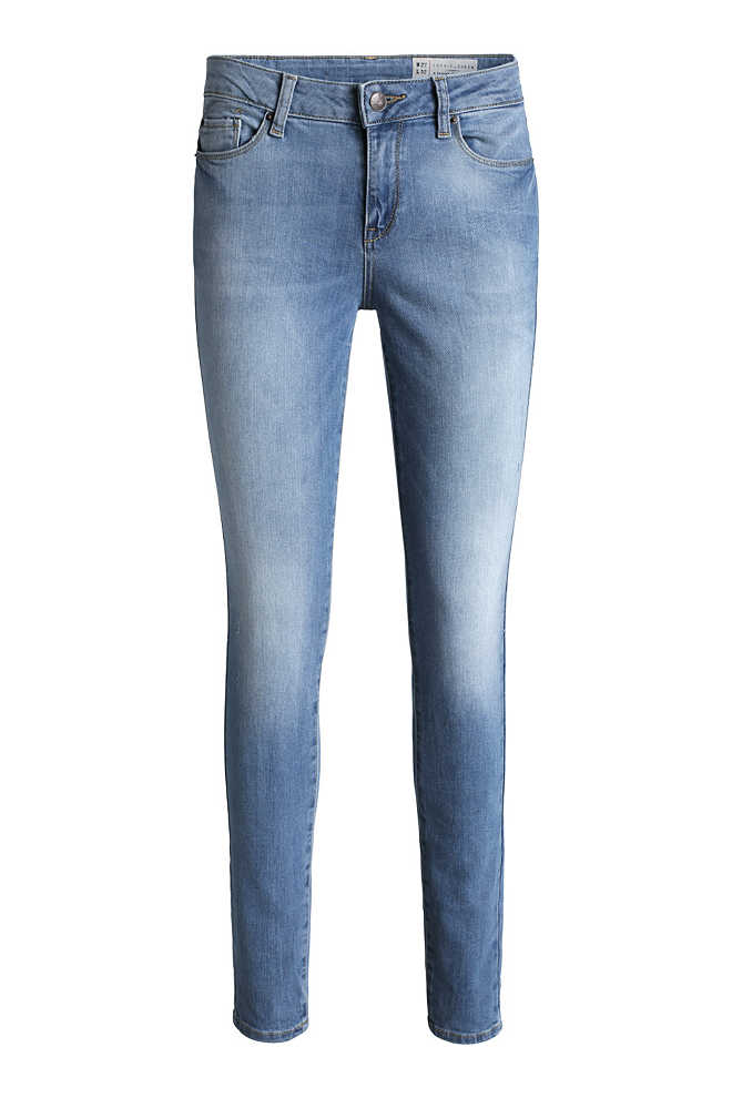 Esprit / Skinny-Stretch-Jeans im bleached Look