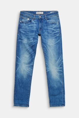 five-pocket jeans in stretch denim