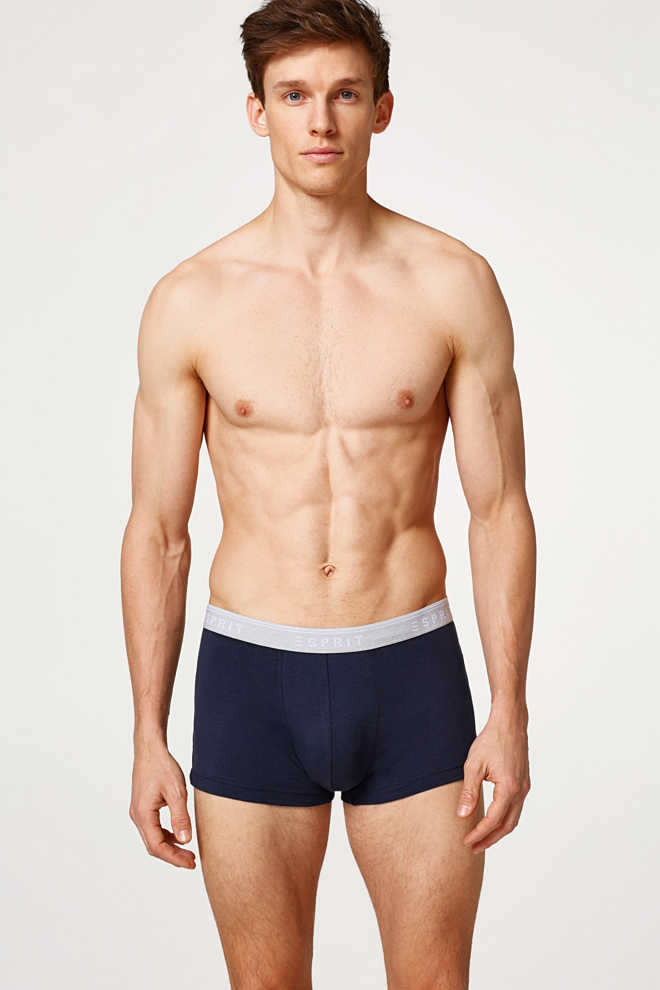 Esprit / Hipster-shorts i bomuld/stretch