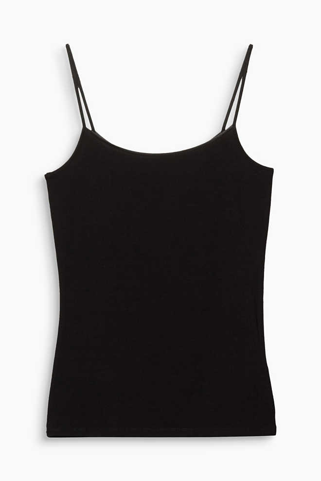 Esprit / Stretch Basic Jersey Spaghettiträger Top
