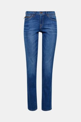 Washed basic stretch jeans