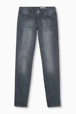 Basic Jeans aus Stretch-Denim