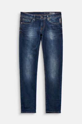 Schmale Basic Stretch-Jeans