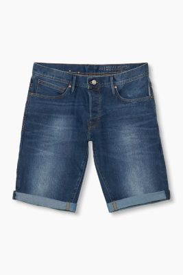 Denim-Bermuda im 5-Pocket-Stil