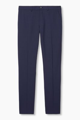 Suit trousers in stretch new wool