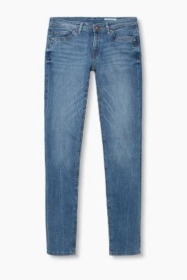 Stretch-Denim im Used-Look