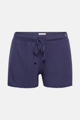 Fließende Jersey-Stretch-Shorts