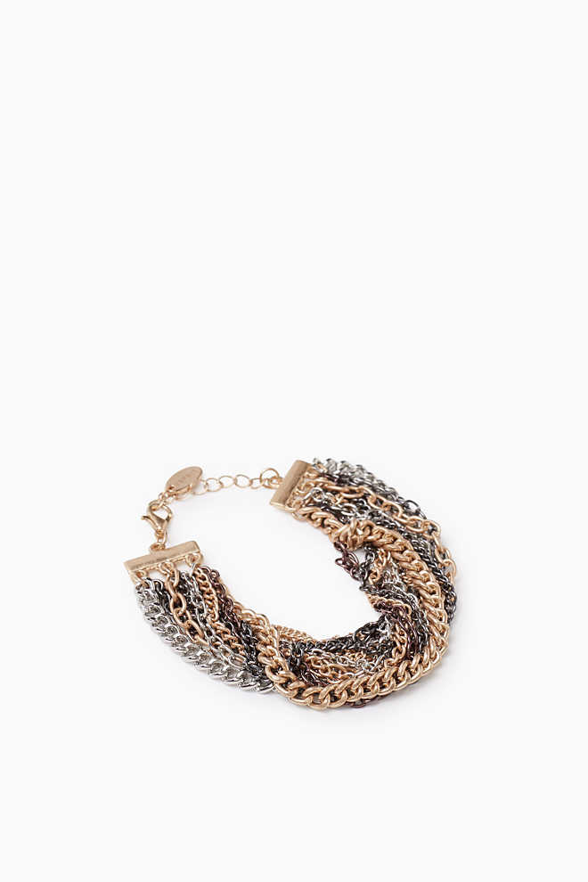 Esprit / Multi-layered bracelet with chains