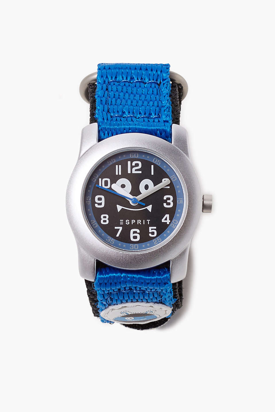 With a little gift: kids watch with a Velcro strap and stick-on tattoos