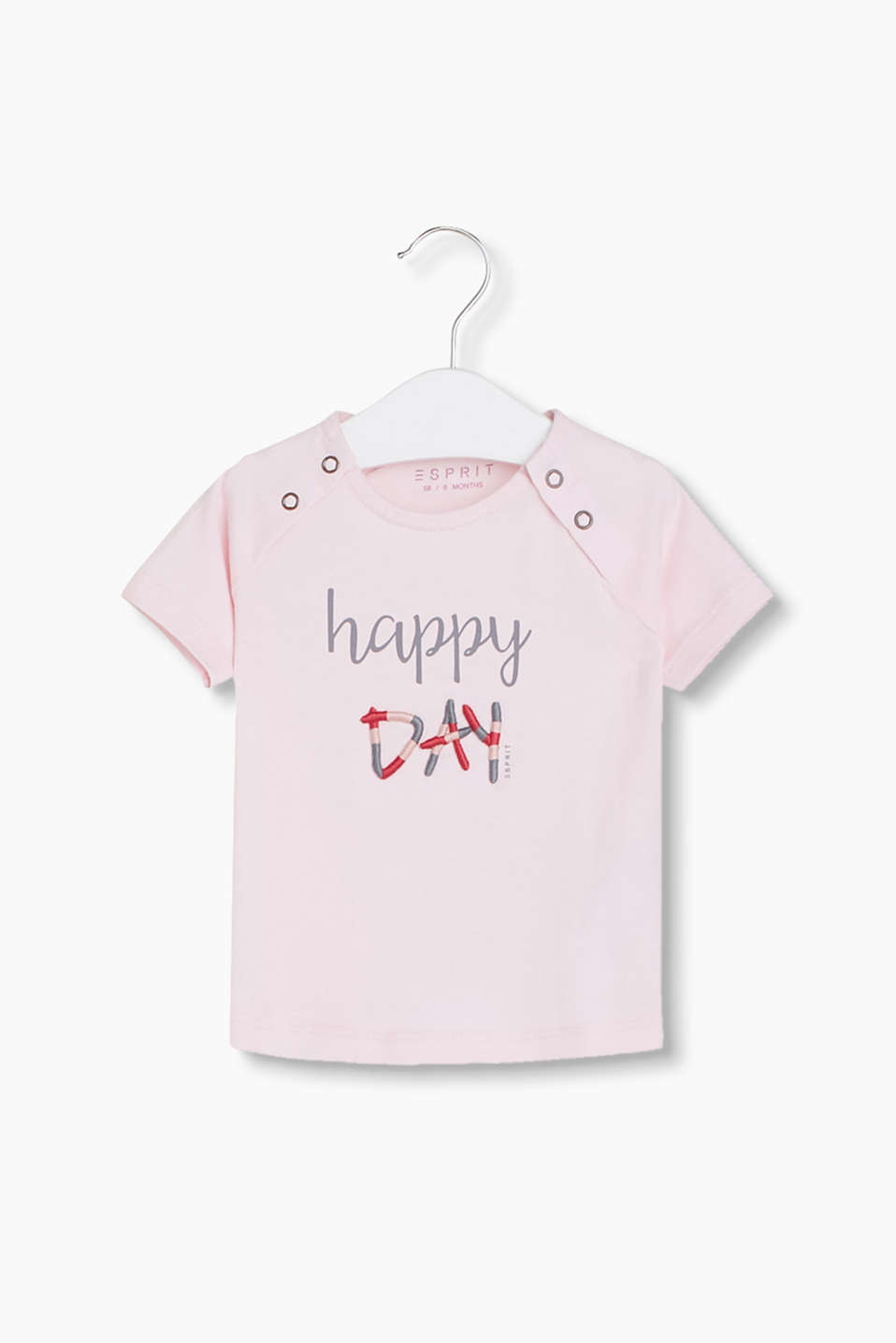 Oh happy day - T-Shirt mit hübschen Statement-Artwork
