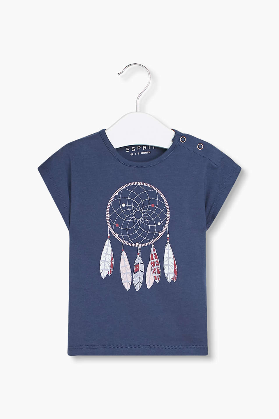 with a pretty dream-catcher print