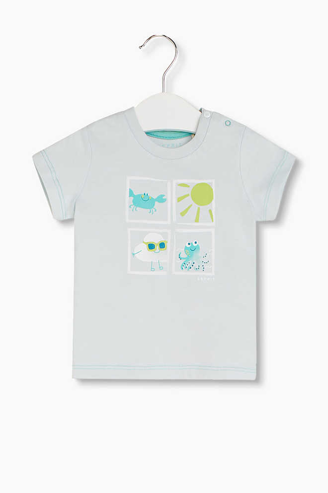 Esprit / Soft printed T-shirt, organic cotton