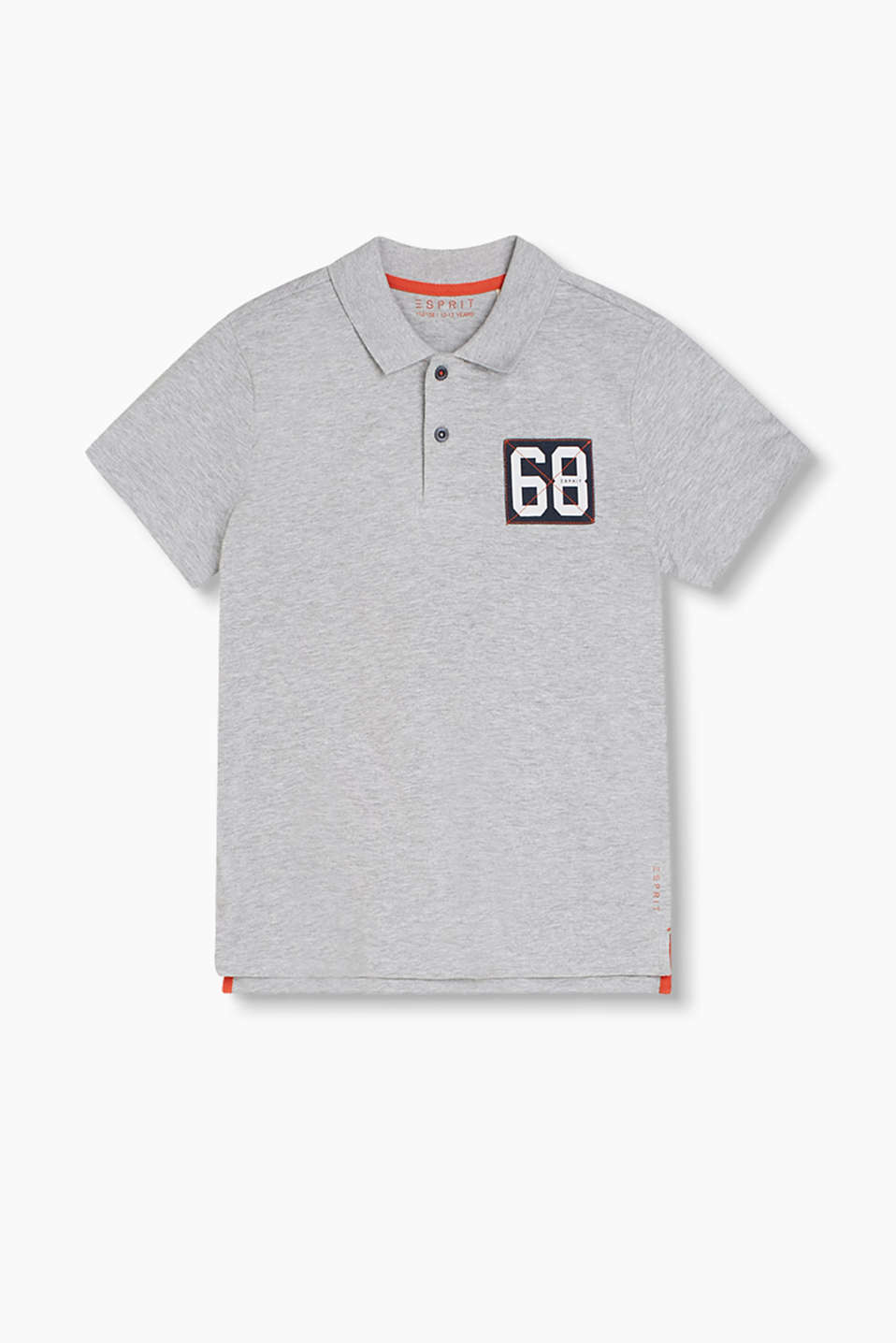 Smart-lässiges Basic: Polo-Shirt aus softem Baumwoll-Jersey