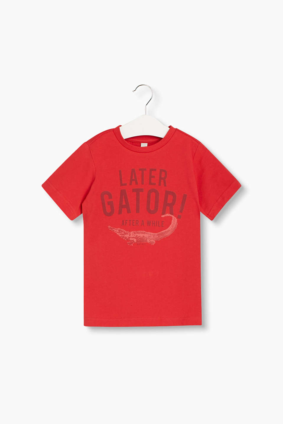SEE YOU LATER ALLIGATOR - soft, cotton-jersey T-shirt
