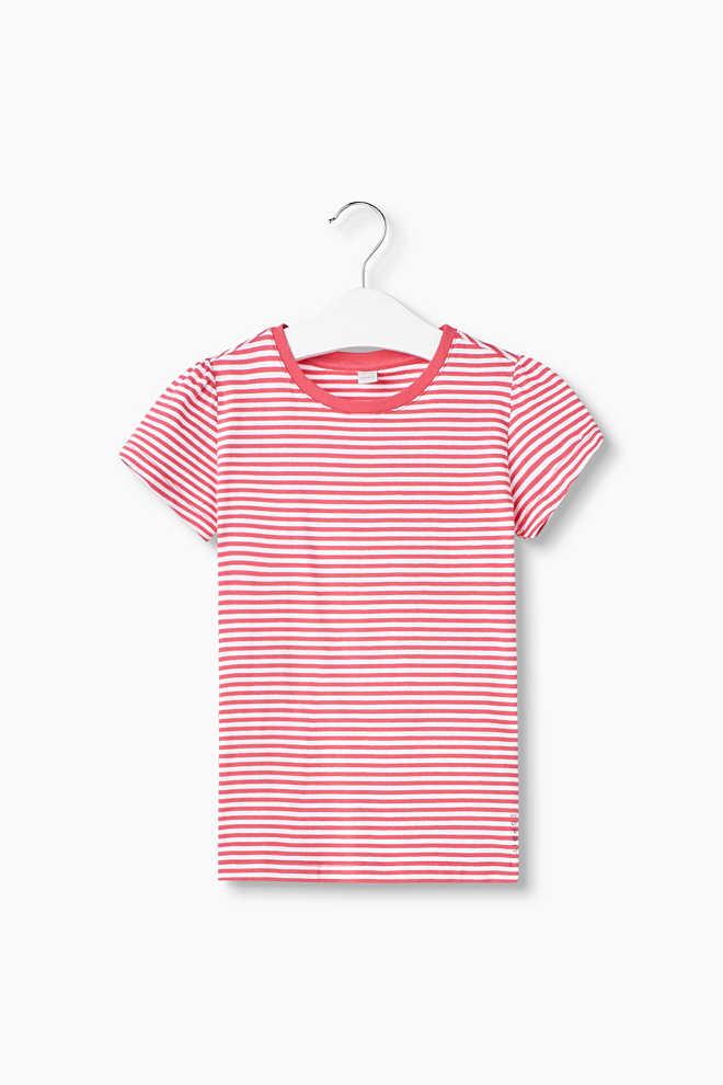 esprit striped t shirt in stretch cotton at our online shop. Black Bedroom Furniture Sets. Home Design Ideas