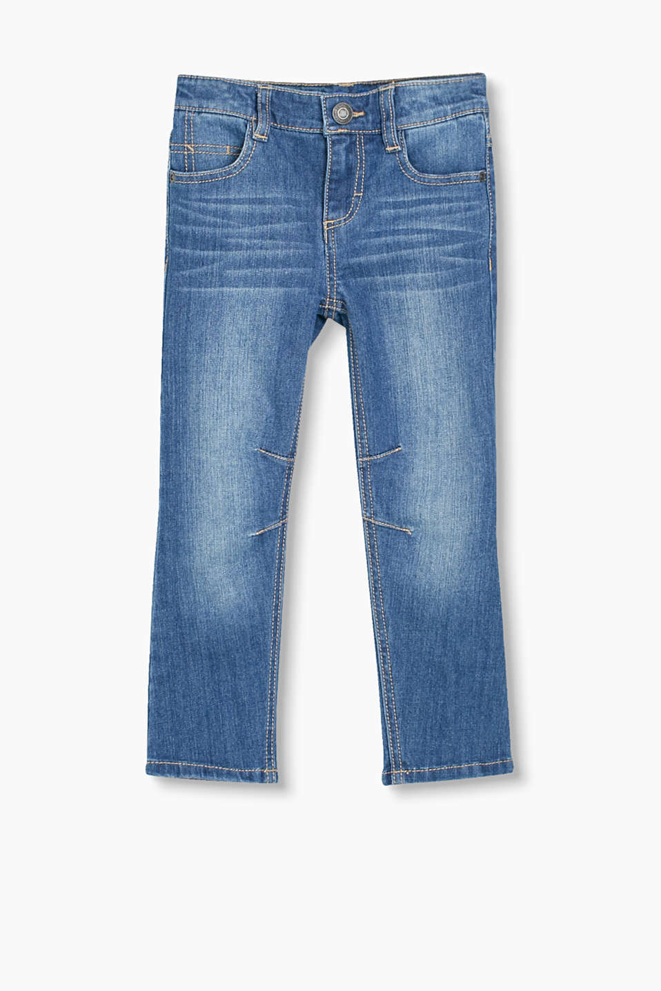 aus extraweichem Stretch-Denim, Baumwoll-Mix