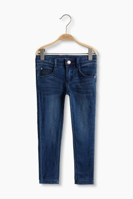 Sweat-Jeans aus Baumwoll-Mix mit Stretch