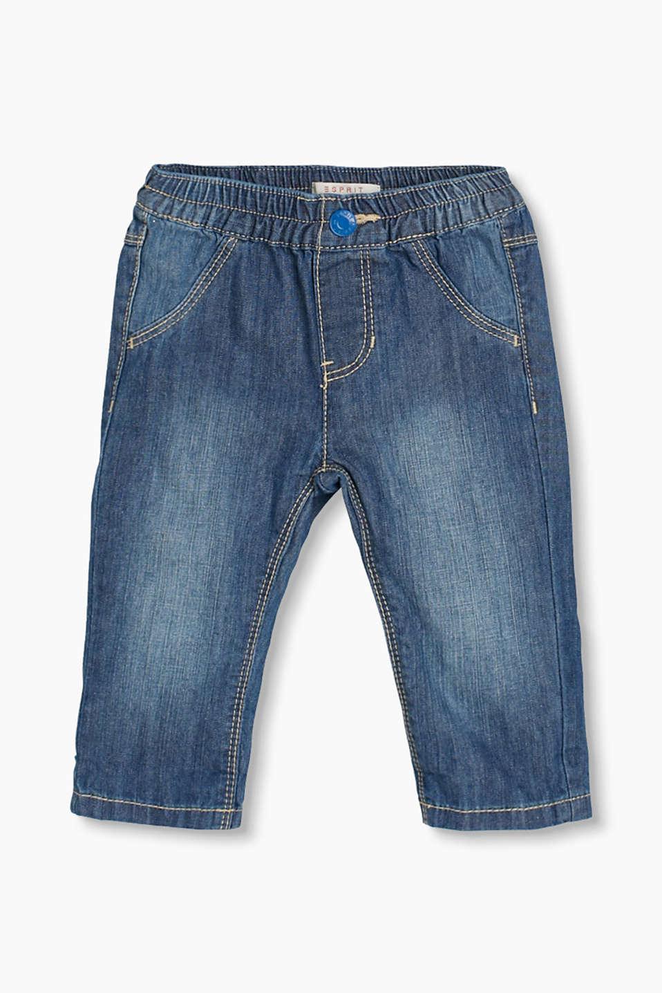 esprit basic jeans aus 100 baumwolle im online shop kaufen. Black Bedroom Furniture Sets. Home Design Ideas