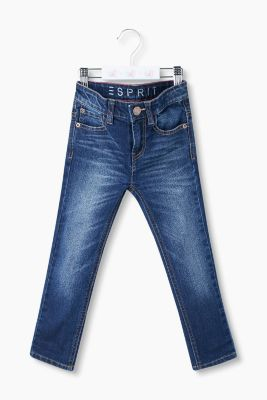 5-Pocket Stretch-Jeans mit Verstellbund