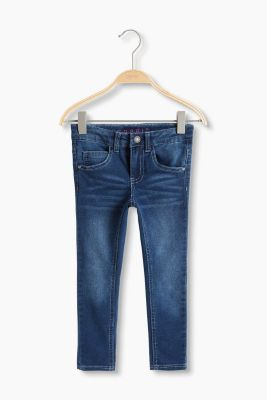 Stretch jeans in soft blended cotton