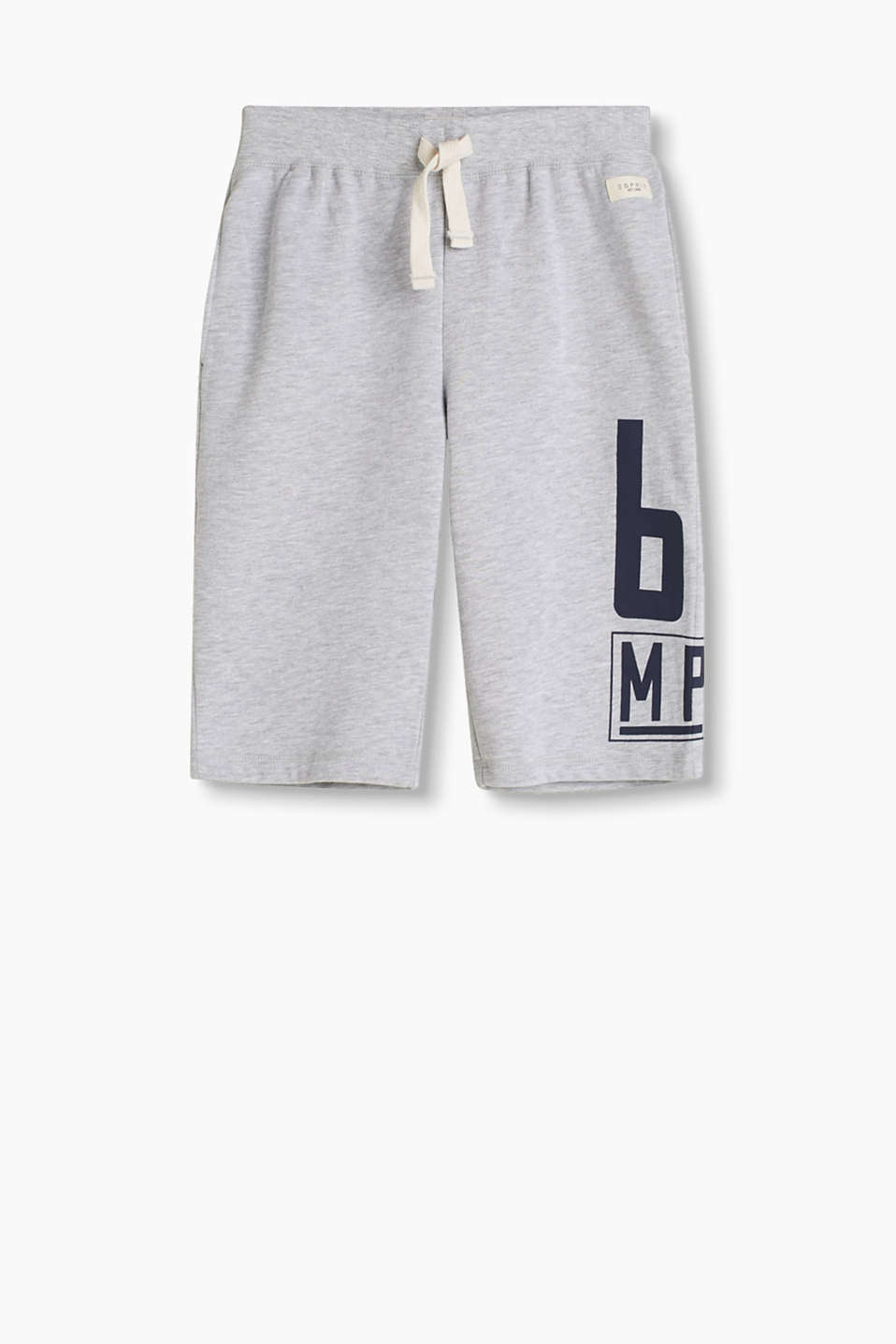 Ultra soft sweatshorts with a ribbed elasticated waistband and a positioned number print.