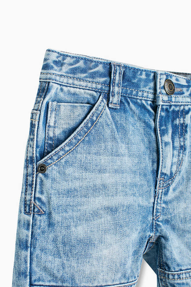 Esprit / Shorts in denim in 100% cotone