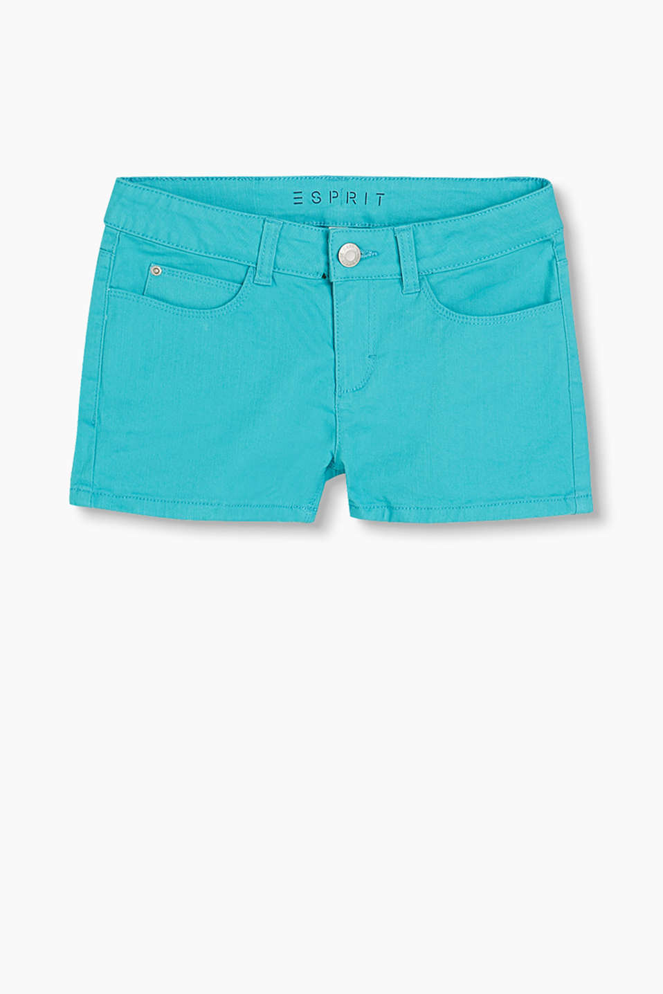 In knalliger Farbe: Shorts im 5-Pocket-Stil