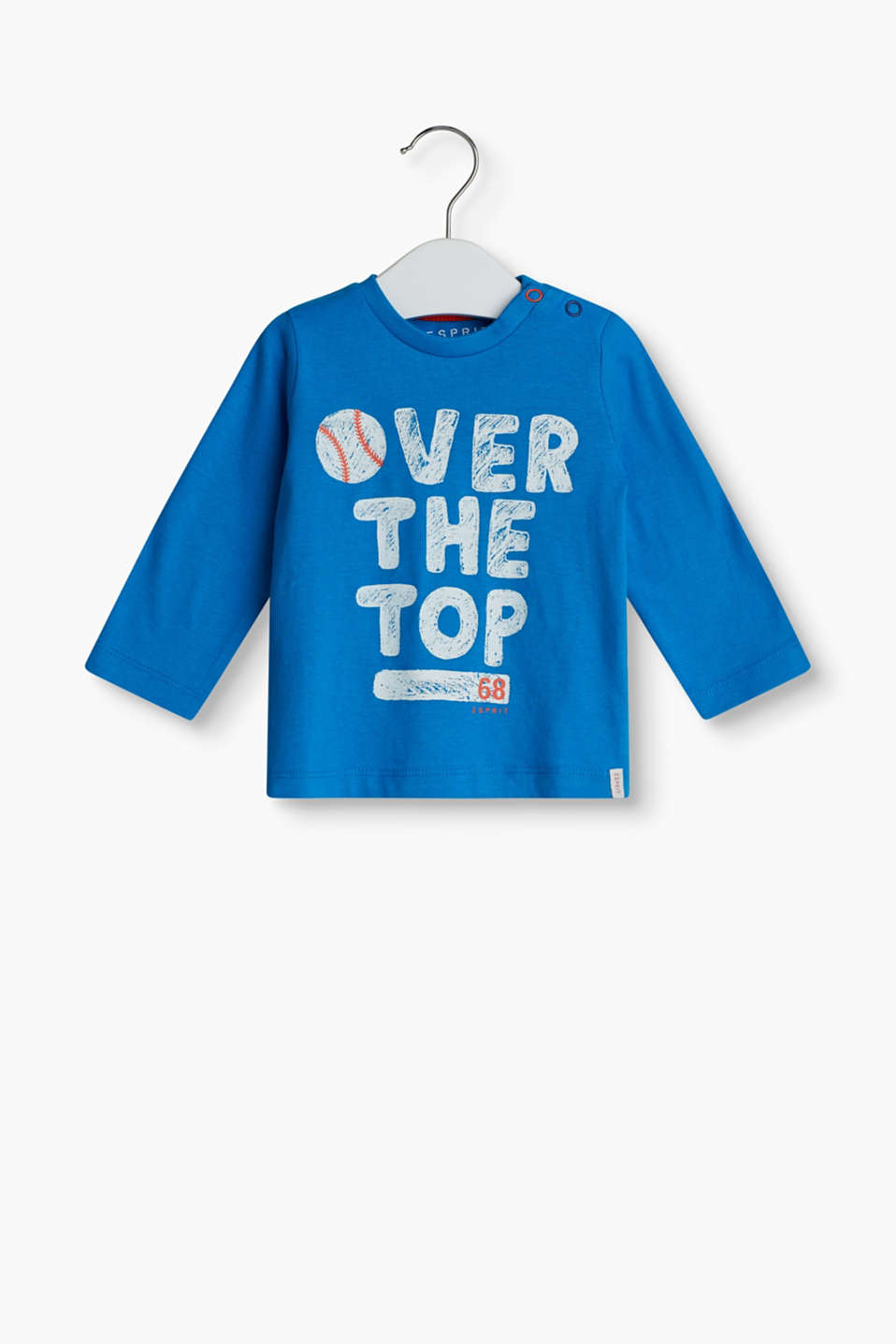 OVER THE TOP – long sleeve top in soft cotton jersey