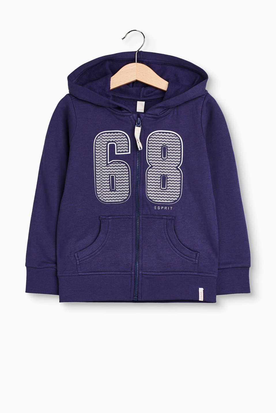 Just for girls! This cool hoodie decorated with a shimmering logo is an absolute must-have!