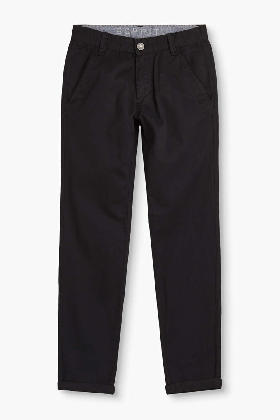 These trousers are a must for every wardrobe! Their minimalist design works with lots of looks.