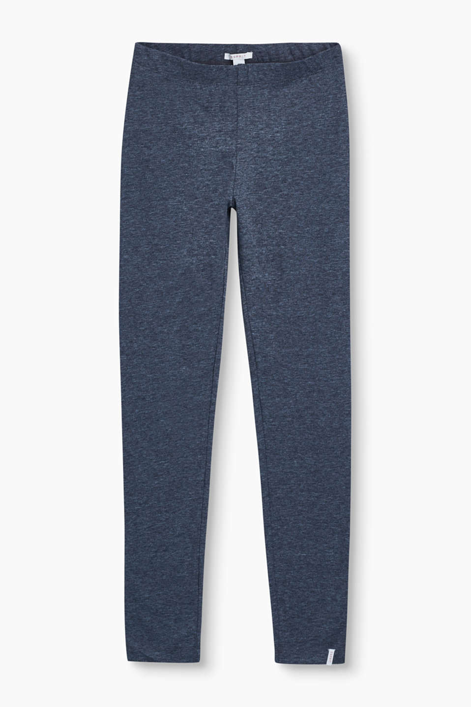 Basic jersey leggings in soft stretch cotton