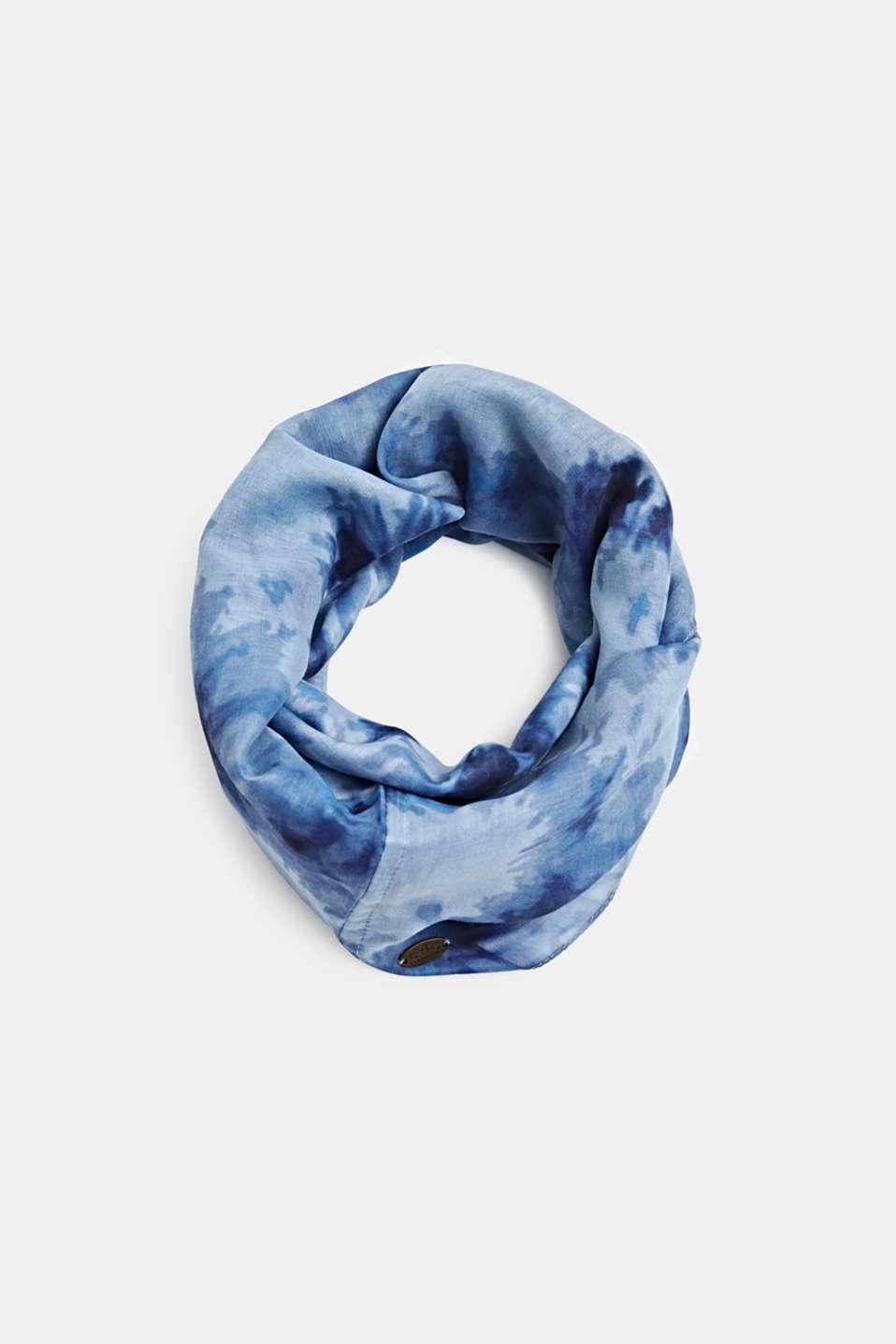 Shawls/Scarves, BLUE, detail image number 0