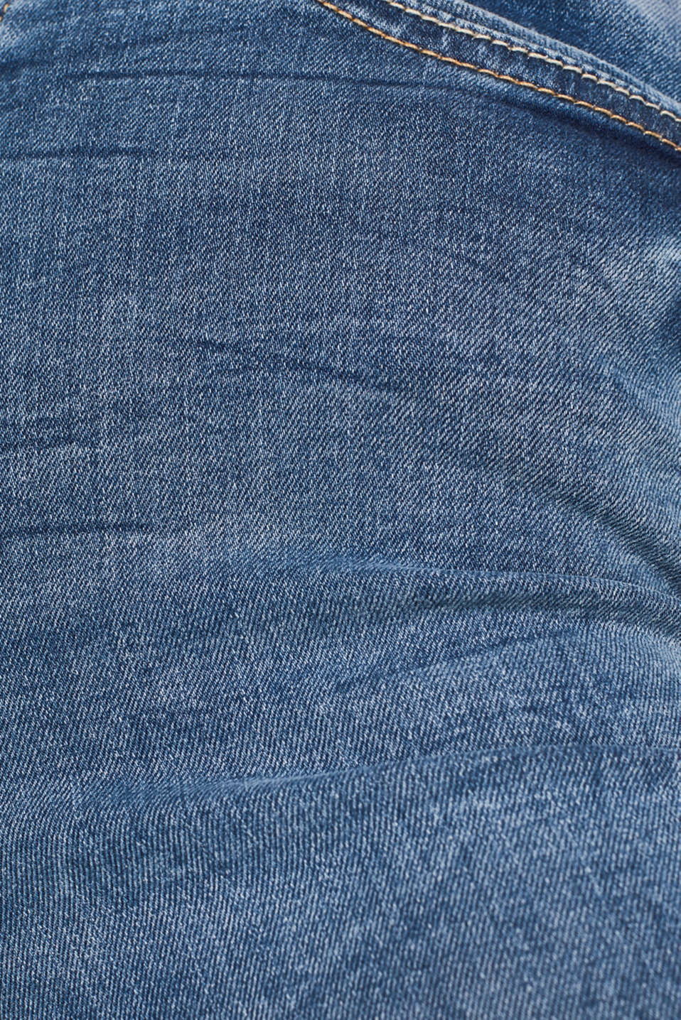 With TENCEL™: Shaping jeans in a double button design, BLUE MEDIUM WASH, detail image number 4