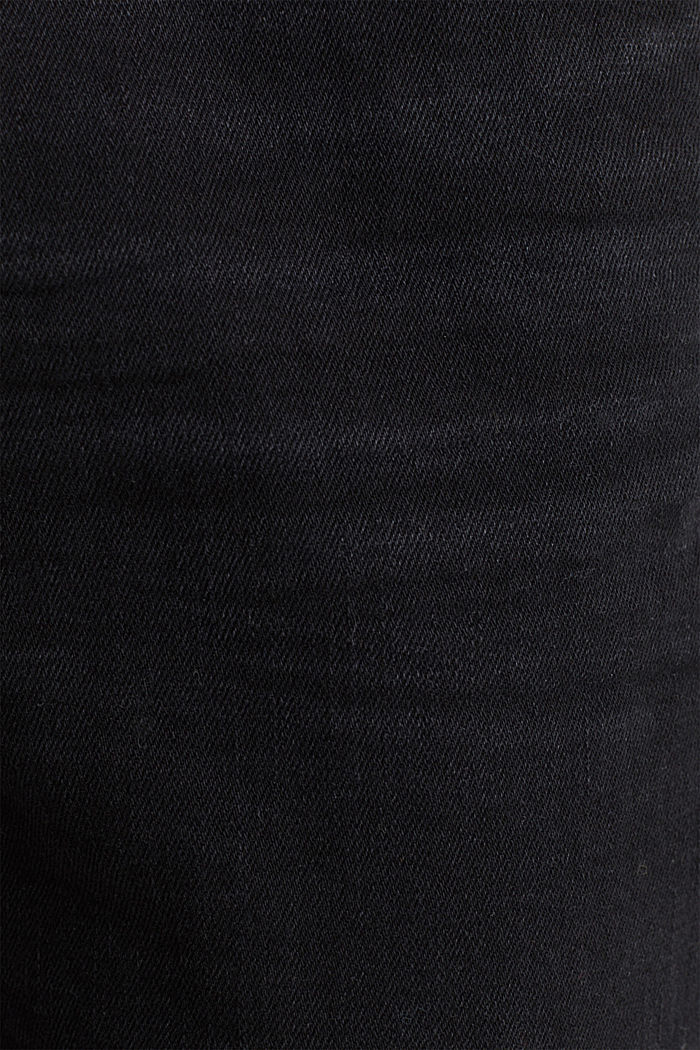 Stretch jeans with a new, relaxed fit, BLACK DARK WASHED, detail image number 4