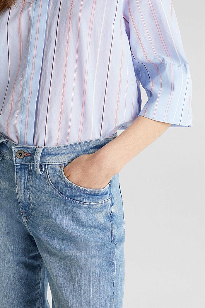 Jeans im Jogger-Stil, BLUE LIGHT WASHED, detail image number 2