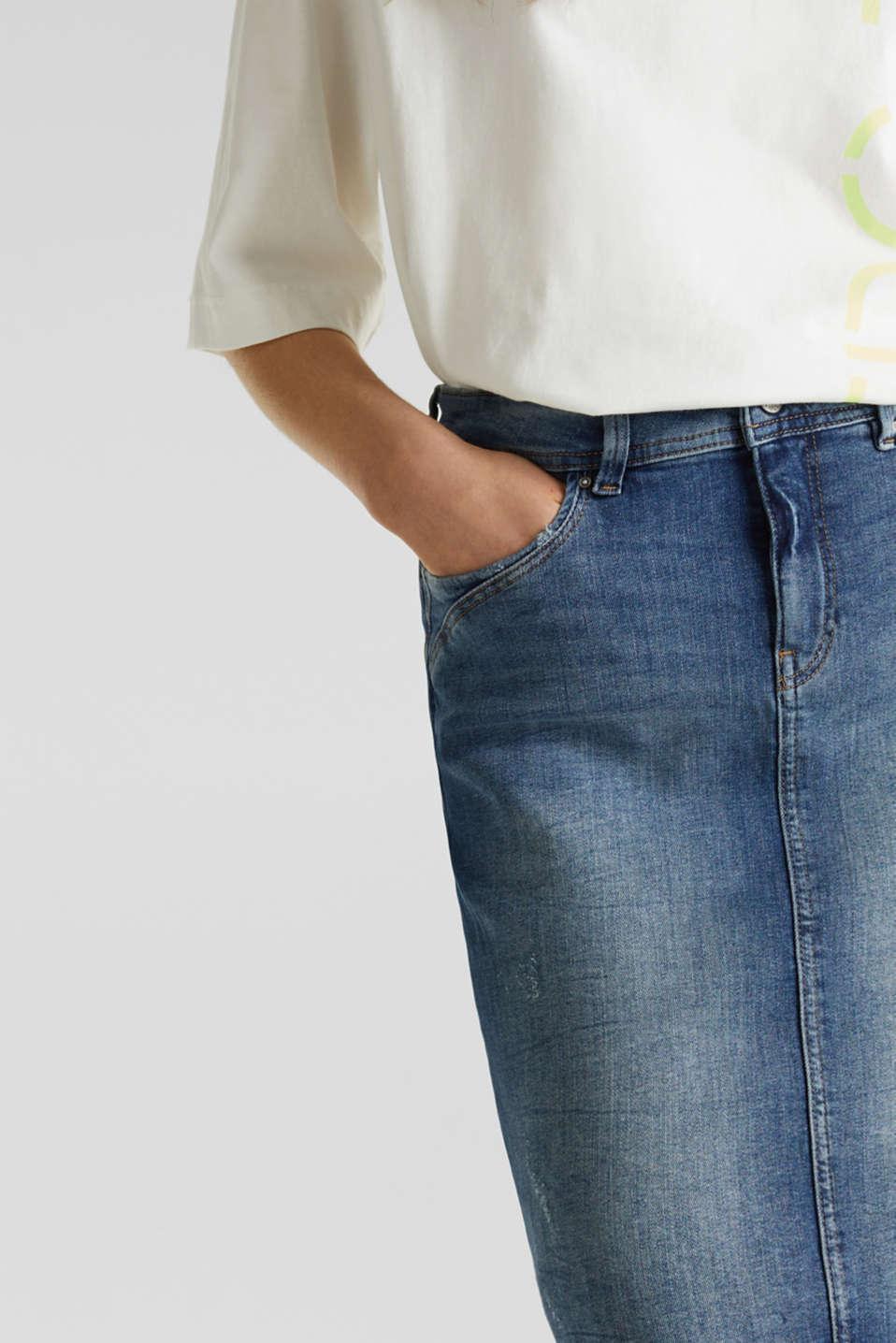 Skirts denim, BLUE DARK WASH, detail image number 2