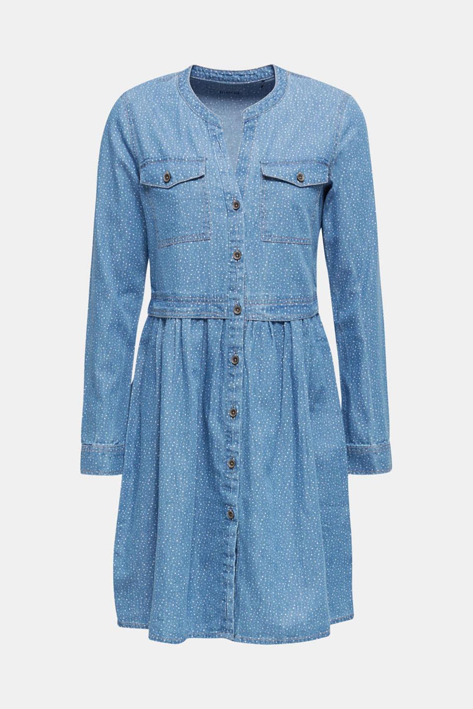 Dresses denim, BLUE LIGHT WASH, detail image number 4