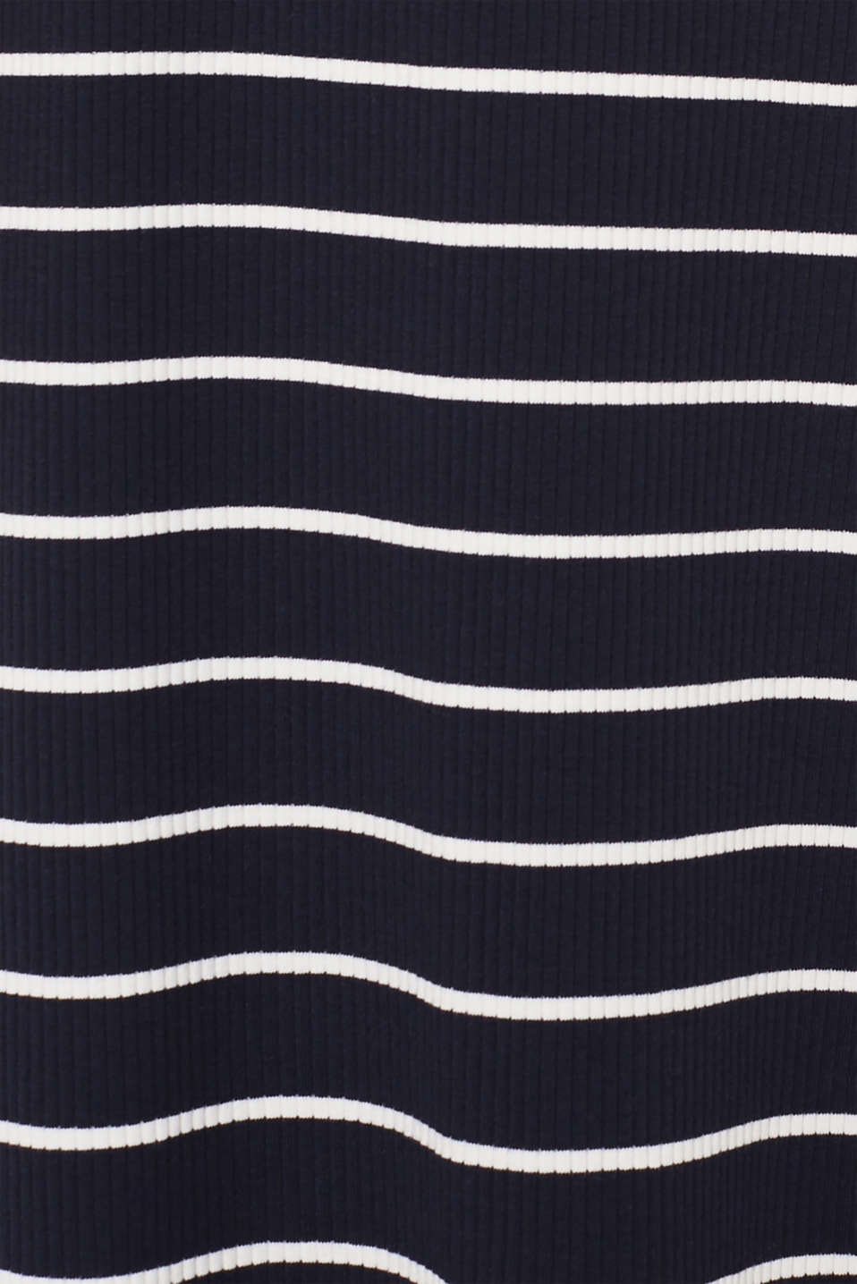 Stretch jersey dress with stripes and texture, NAVY, detail image number 4