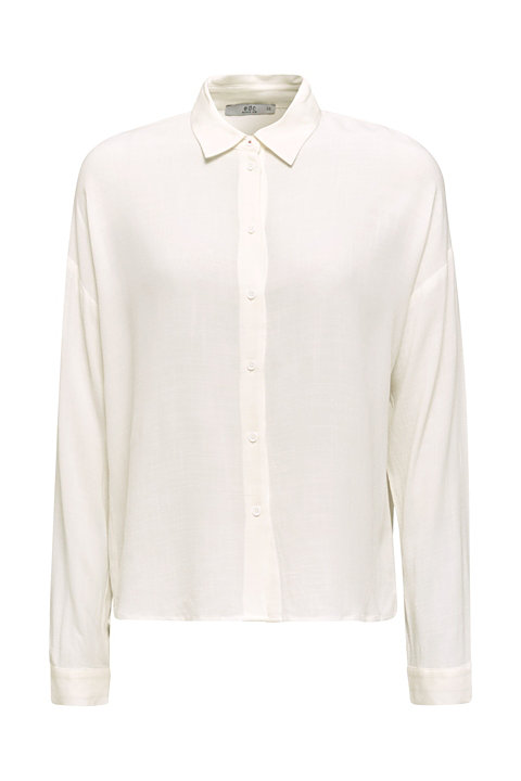 Flowing shirt blouse with a texture